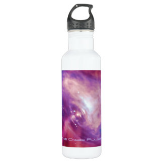Crab Pulsar Time Lapse - Neutron Star Stainless Steel Water Bottle