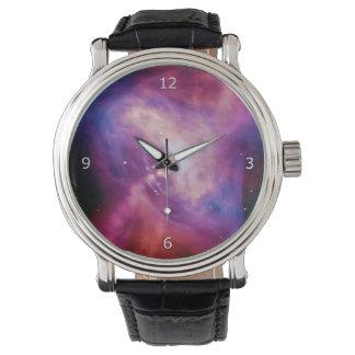 Crab Pulsar Time Lapse - Neutron Star Wristwatch