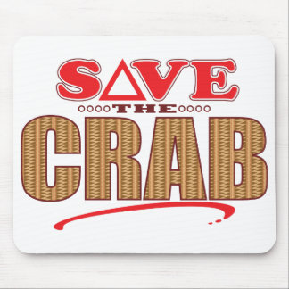 Crab Save Mouse Pad