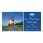 Crab Save The Date Photocard (Navy Blue) Photo Card