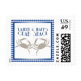 Crab Shack Postage Stamp