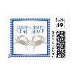 Crab Shack Postage Stamps