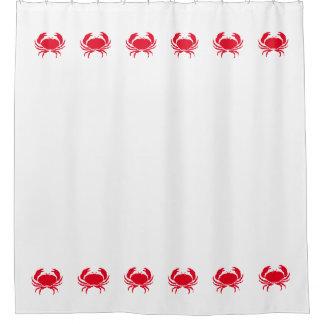 """Crab"" Shower Curtain"