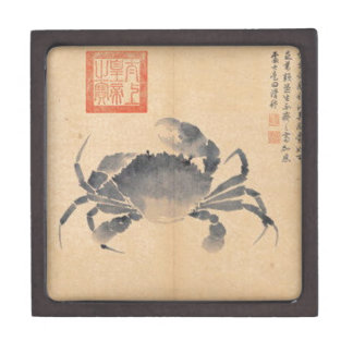 Crab (Sketches from Life) by Shen Zhou Keepsake Box