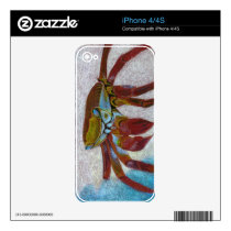 Crab Skin For iPhone 4S