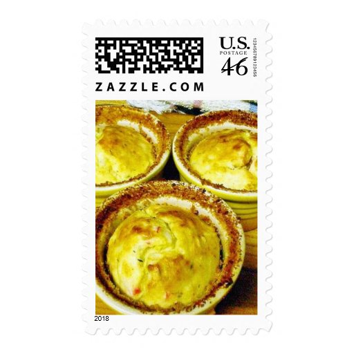 Crab Souffle Cooking Dinner Postage