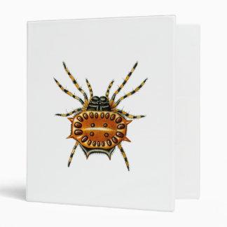 Crab Spider 3 Ring Binder