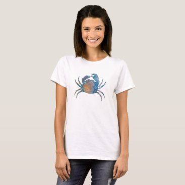 Beach Themed Crab T-Shirt