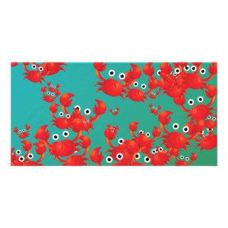 Crab world card