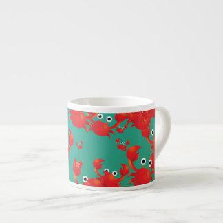 Crab world espresso cup