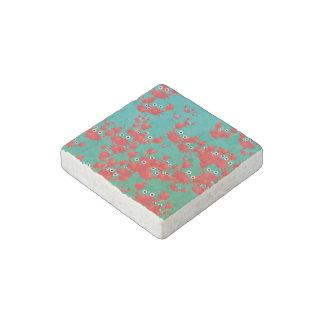 Crab world stone magnet