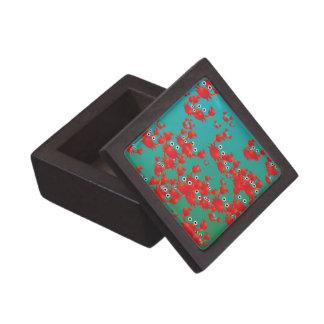 Crab world jewelry box