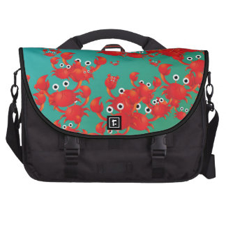 Crab world commuter bags