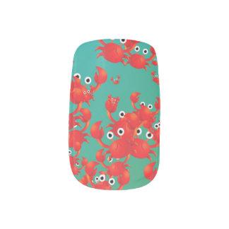 Crab world minx® nail wraps