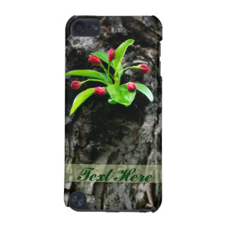 Crabapple Blossom on Trunk Photo Ipod Touch Case