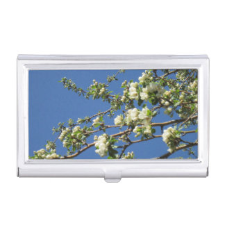 Crabapple Blossoms Business Card Holder