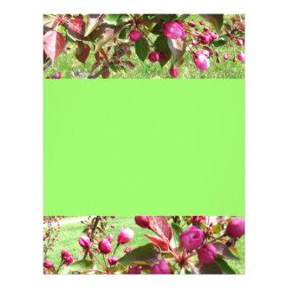 Crabapple Blossoms Flyer