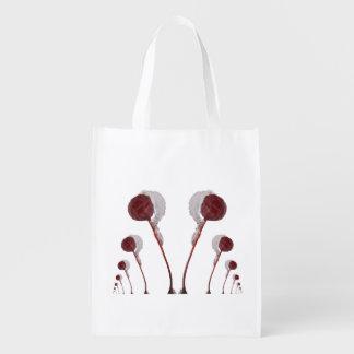 Crabapple Chorus Line ~ Poly bag Market Tote