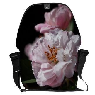 Crabapple Flower In Bloom Large Messenger Bag
