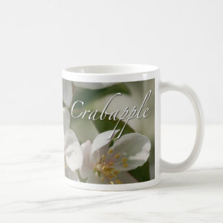 Crabapple Flowers Classic White Coffee Mug