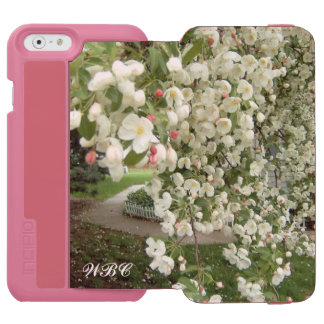 Crabapple Tree in Bloom Design for a Special Lady iPhone 6/6s Wallet Case