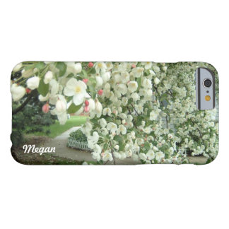 Crabapple Tree in Bloom Floral Girly Pattern Barely There iPhone 6 Case
