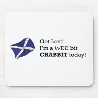 Crabbit products mouse pad