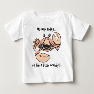 crabby!  Baby text! Baby T-Shirt