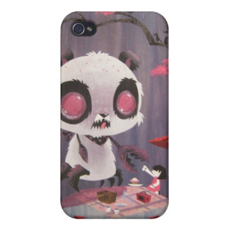 Crabby Bear- Paper, Rock, Claws. Case For iPhone 4