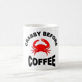 Crabby Before Coffee Mug