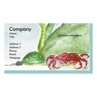 Crabby Bubbles Business Card