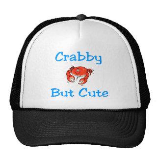 Crabby But Cute Mesh Hats