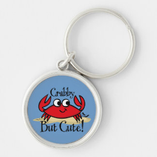 Crabby But Cute Keychain