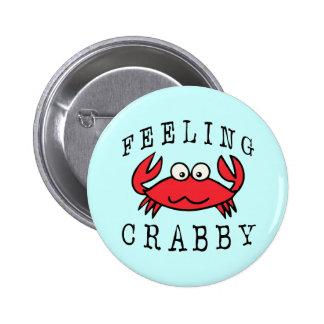 CRABBY CRAB PIN