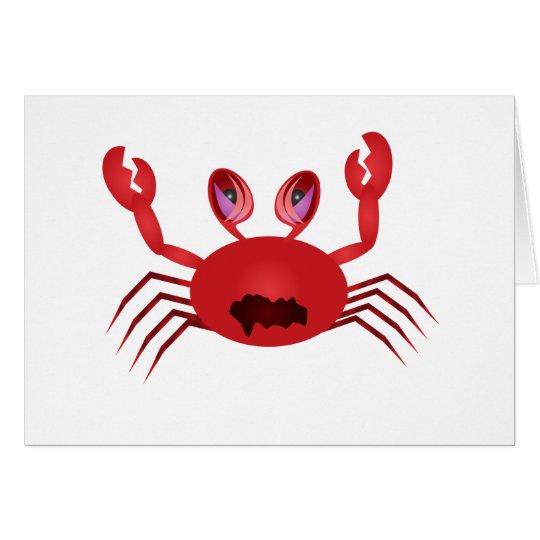 Crabby Crab Card