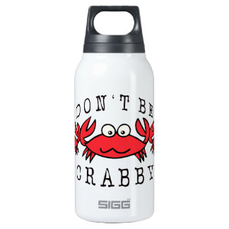 CRABBY CRAB INSULATED WATER BOTTLE