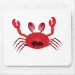 Crabby Crab Mouse Pad