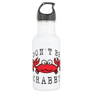 CRABBY CRAB 18OZ WATER BOTTLE