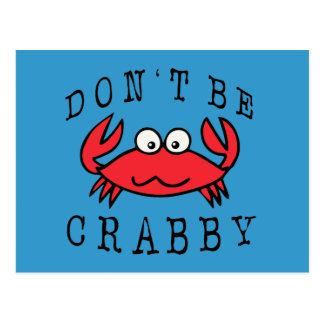 CRABBY CRAB POST CARDS