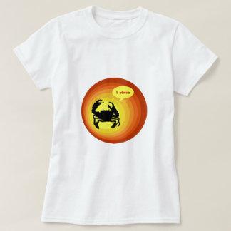 "Crabby Crab says ""I Pinch"". T-shirt"