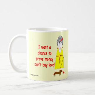 Crabby, cranky baby boomer coffee mug! coffee mug