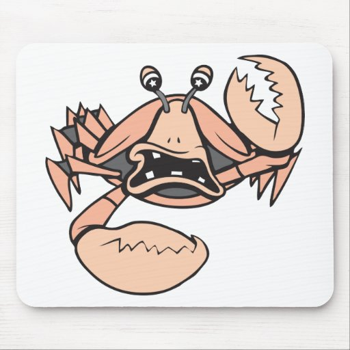 crabby!  Customizable! Mouse Pad