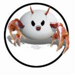 Crabby Egg Acrylic Cut Out