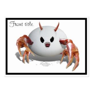 Crabby Egg Business Card Templates
