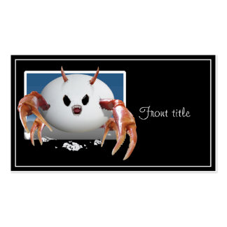Crabby Egg Business Cards