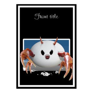 Crabby Egg Business Card Template