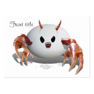 Crabby Egg Business Card
