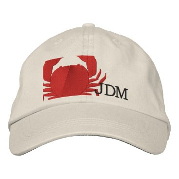Professional Business Crabby Embroidered Baseball Cap