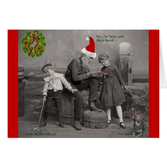 Crabby Holiday Card
