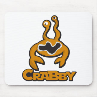 Crabby Mouse Pad